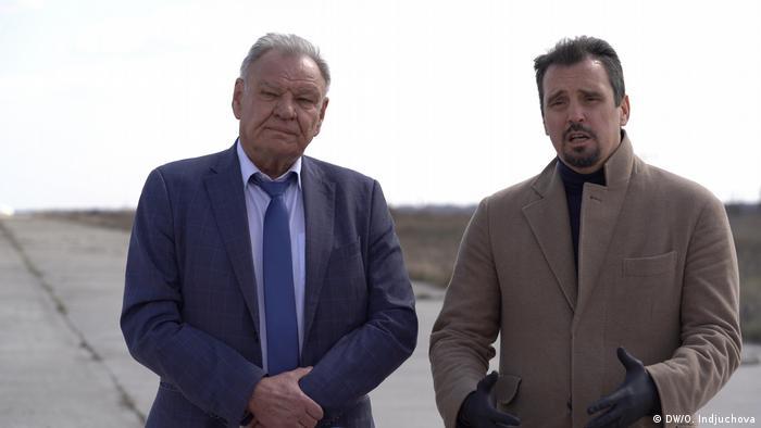Михайло Харченко й Айварис Абромавичус