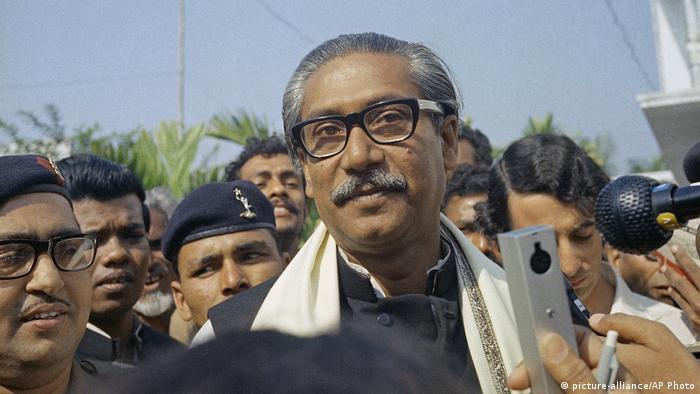 Bangladesch Mujibur Rahman 1972