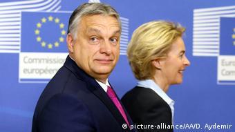 Viktor Orban și Ursula von der Leyen