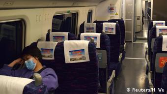 China - Zug nach Suifenhe (Reuters/H. Wu)