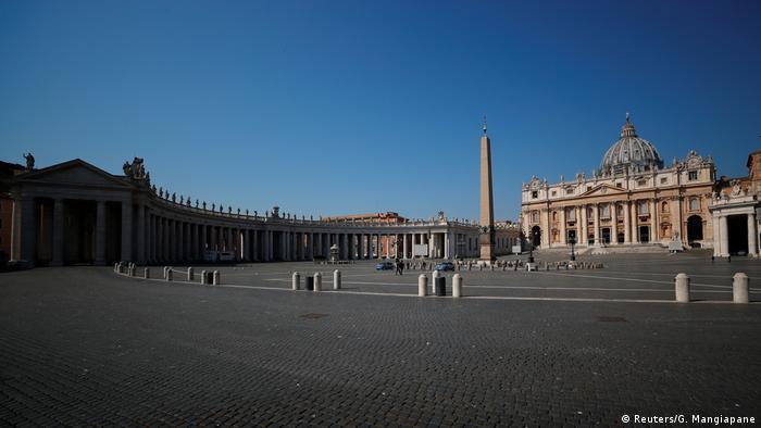 Papst Franziskus Messe Ostern Vatikan (Reuters/G. Mangiapane)