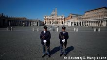 Papst Franziskus Messe Ostern Vatikan