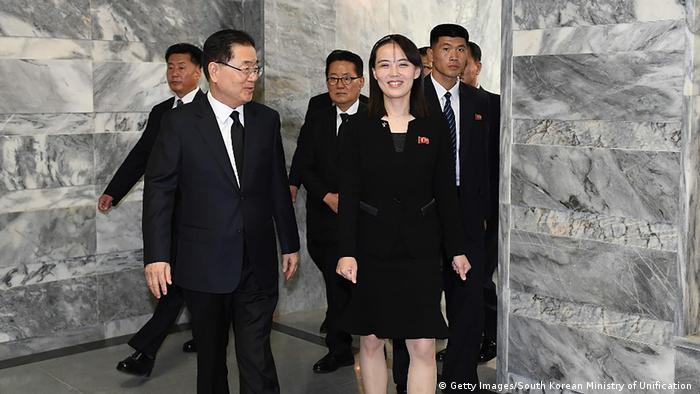 Kim Yo Jong Nordkorea (Getty Images/South Korean Ministry of Unification )