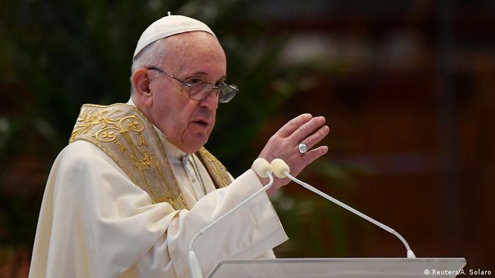 Mundo pospandemia debe ser más justo, dice papa Francisco   El Mundo   DW    30.05.2020