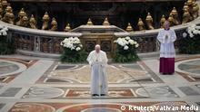 Papst Franziskus Segen Ostersonntag Vatikan