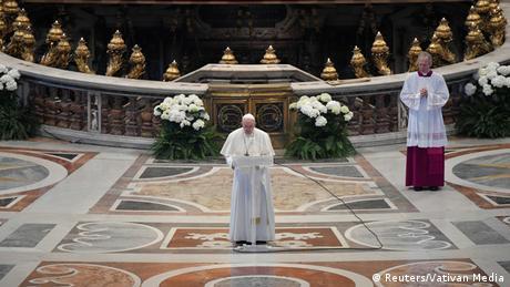 Μοναχικό Πάσχα στο Βατικανό