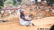Demolition of houses in the precarious neighborhoods of Angola. Photos of residents interviewed by DW Africa. Date: 11.04.2020 Author: António Domingos, DW Place: Sambizanga, Angola Keyword: Demolitions in Angola, controversial neighborhoods, Luanda, Sambizanga