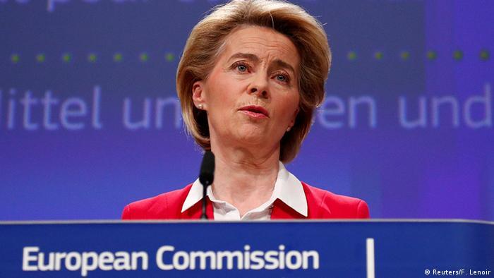 Brüssel   Ursula von der Leyen, Präsidentin der Europäischen Kommission (Reuters/F. Lenoir)