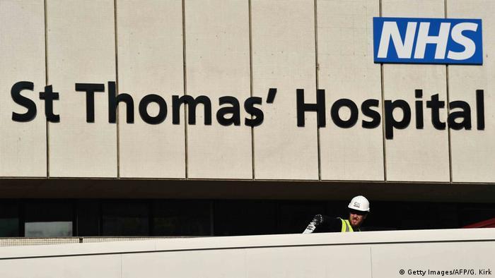 England Coronavirus Boris Johnson aus Hospital entlassen (Getty Images/AFP/G. Kirk)