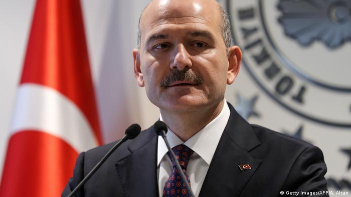 وزير الداخلية التركي سليمان صويلو (22/4/2019)
