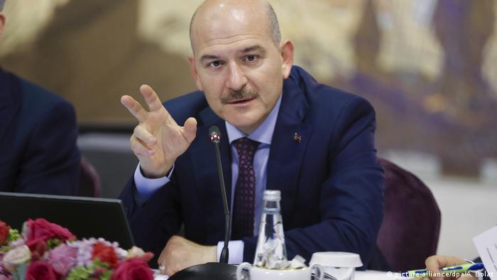 Türkei Innenminister Süleyman Soylu