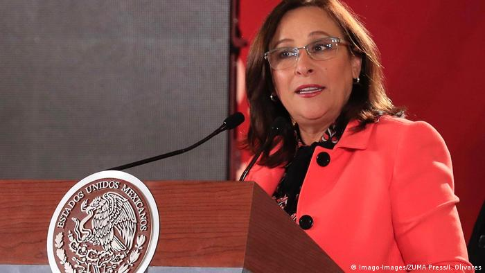 Mexiko Energieministerin Rocio Nahle (Imago-Images/ZUMA Press/I. Olivares)