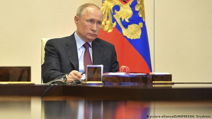 Russland Wladimir Putin (picture-alliance/ZUMAPRESS/A. Druzhinin)