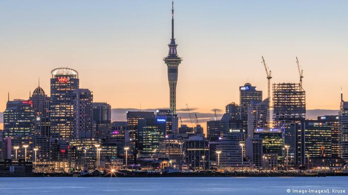 Neuseeland Auckland Sky Tower (Imago-Images/J. Kruse)