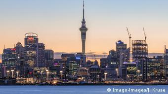 Крупнейший город Новой Зеландии Окленд