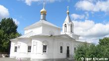 Kirche der seligen Gottesmutter in Orenburg Russland