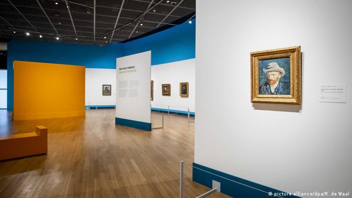 Van Gogh Museum während der Corona-Krise (picture-alliance/dpa/R. de Waal)