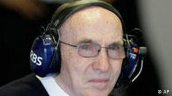 Der Brite Frank Williams, Teamchef des Williams F1 Teams (Foto: AP)