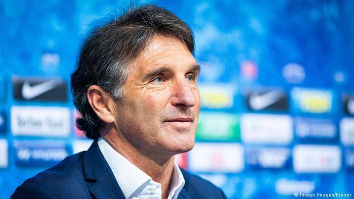 Deutschland Berlin | Hertha BSC Berlin, Vorstellung Trainer Bruno Labbadia