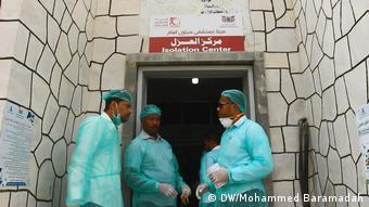 Coronavirus Jemen (DW/Mohammed Baramadah)
