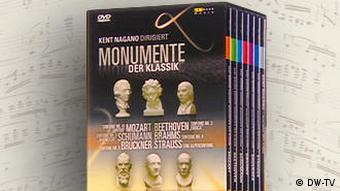 The DW series 'Classical Masterpieces' on DVD