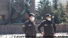 Türkei Ankara | Coronavirus & Ausgangssperre | Sicherheitsbeamte