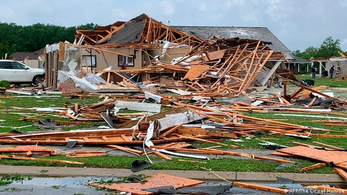 USA Tornado in Mississippi (AFP/The City of Monroe)