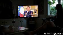 Macron hält in Corona-Krise erneut Ansprache an Franzosen