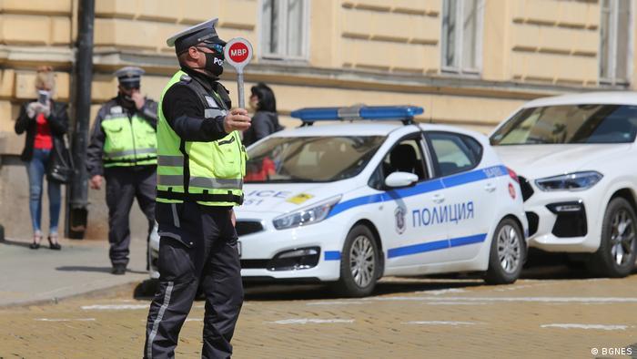 Полицаи в София