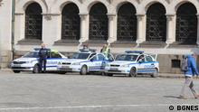Coronavirus Bulgarien Sofia Polizei kontrolliert Ausgangssperre