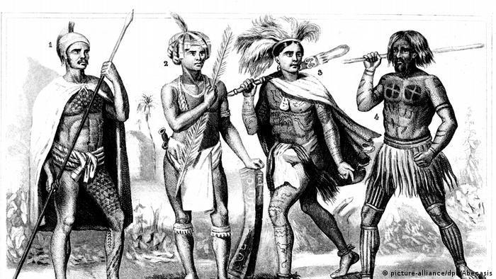 Penduduk asli di Pulau Sandwich