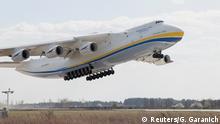 Antonov An-225 Mriya Polen Landung
