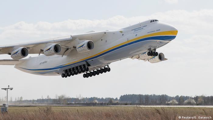 Так злітає найбільший у світі транспортний літак АН-225 Мрія