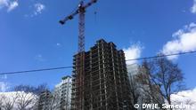 Baustelle Folgen der Corona-Krise für Wohnungsmarkt in Russland