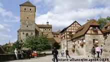 Aussenaufnahme der Kaiserburg in Nürnberg