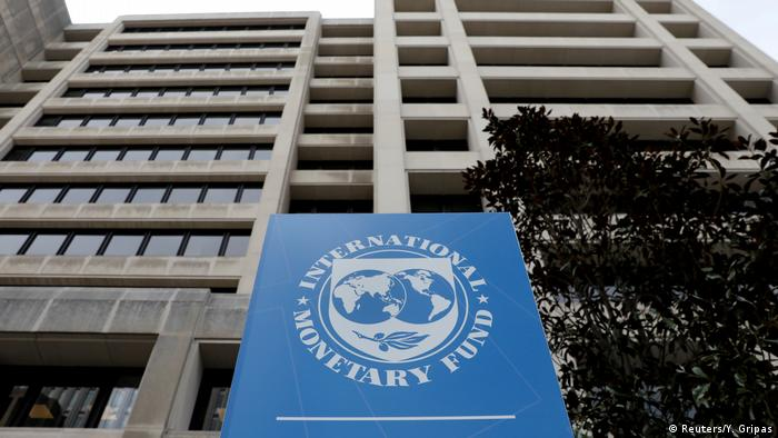 Washington The International Monetary Fund IMF | IWF Hauptquartier (Reuters/Y. Gripas)