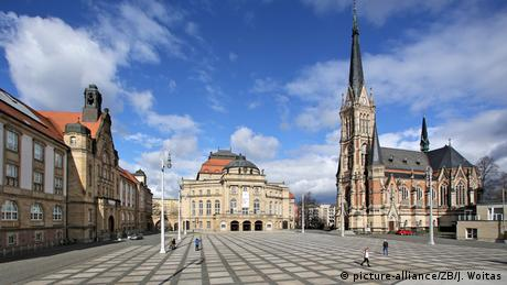 Theaterplatz Square in Chemnitz, Germany (picture-alliance/ZB/J. Woitas)