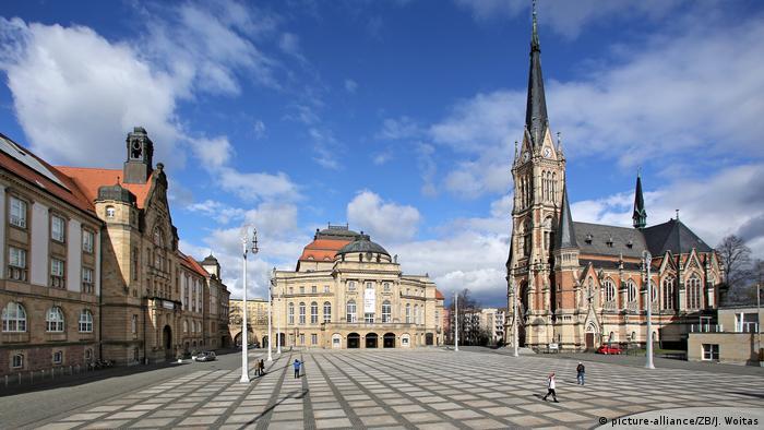 Theaterplatz in Chemnitz