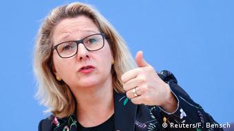 Berlin Umweltministerin Svenja Schulze