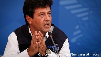 Luiz Henrique Mandetta Brasiliens Gesundheitsminister (picture-alliance/dpa/Zumapress/P. Jacob)