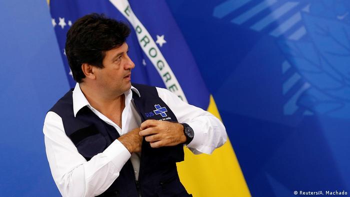 Luiz Henrique Mandetta Brasiliens Gesundheitsminister (Reuters/A. Machado)