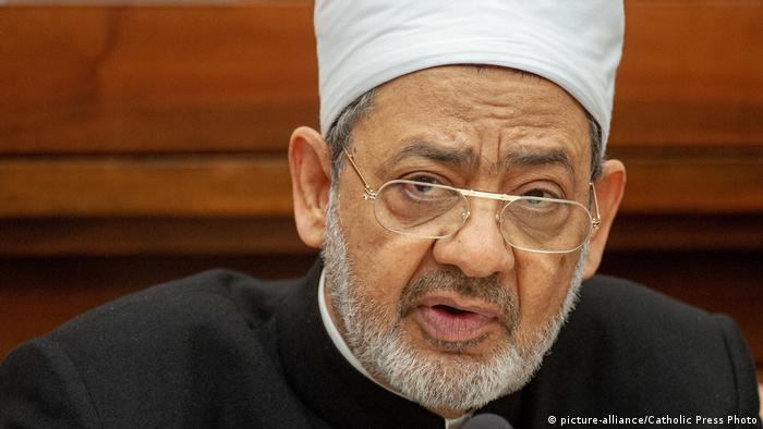 Ahmed Al Tayeb sheikh (picture-alliance/Catholic Press Photo)