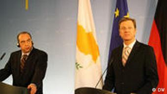 Zypern Deutschland Kyprianou Westerwelle