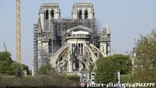Paris Ein Jahr nach Brand Notre-Dame