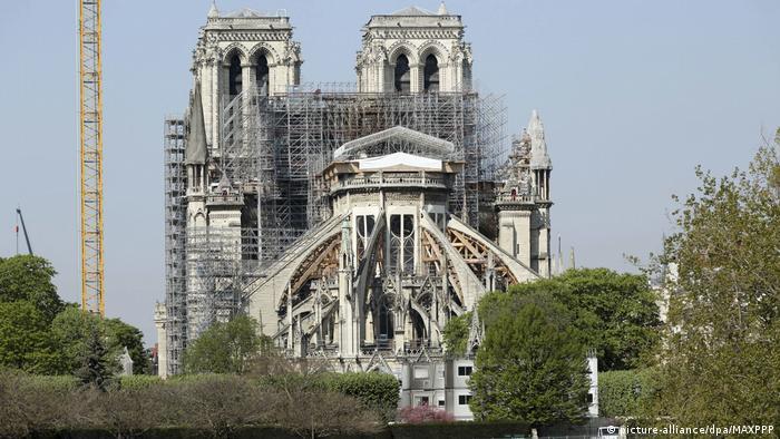 Paris Ein Jahr nach Brand Notre-Dame (picture-alliance/dpa/MAXPPP)
