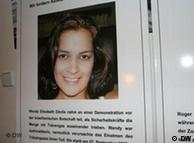 Wendy Elizabeth Davila, murió debido a los gases utilizados por la policía hondureña.