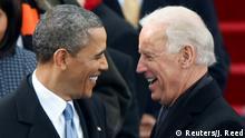 USA Präsident Obama und Vizepräsident Biden