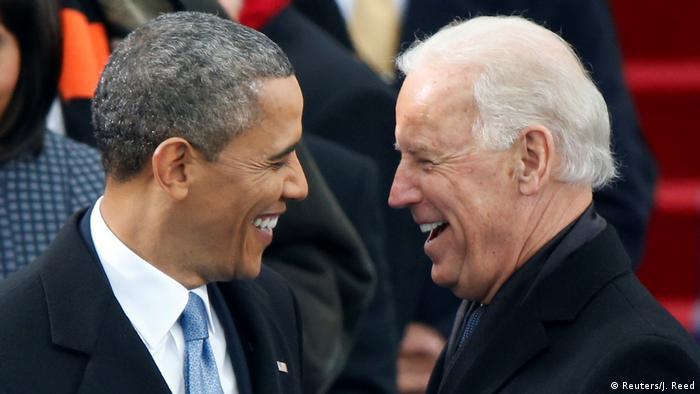USA Präsident Obama und Vizepräsident Biden (Reuters/J. Reed)