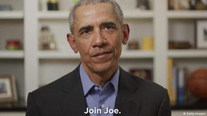 Video Still Obama Unterstützung Kandidatur Biden