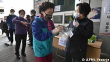 Südkorea Wahlen in Coronakrise
